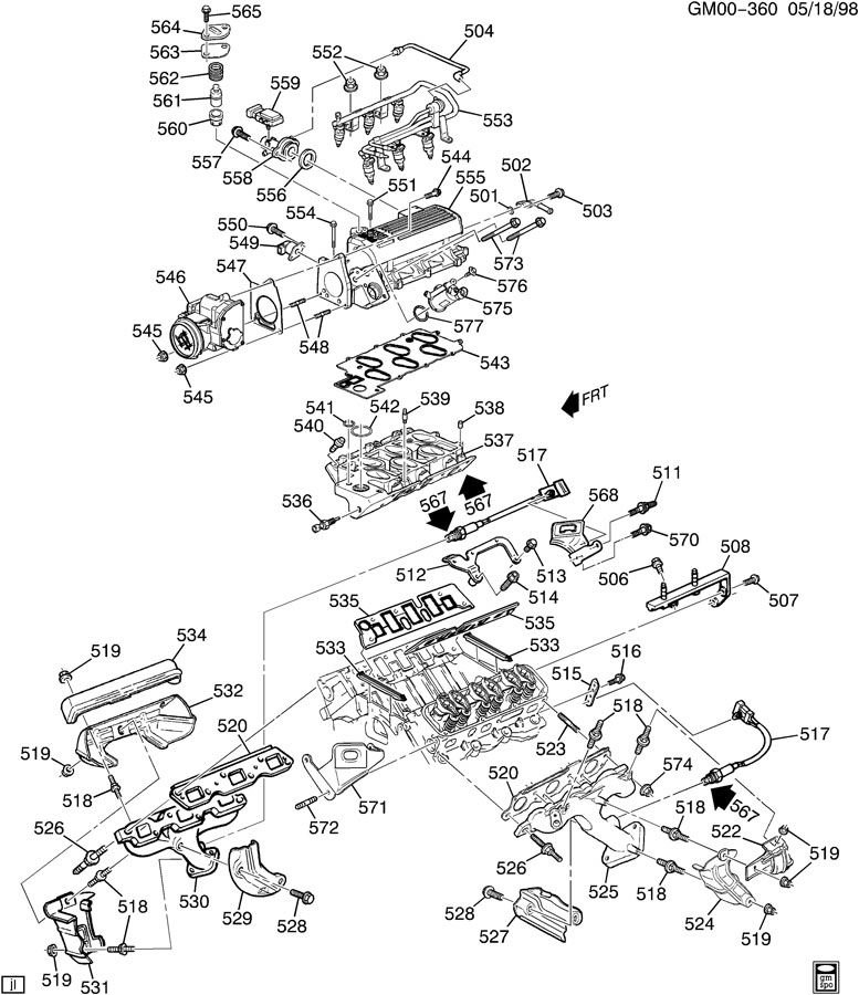 WK_5419 Chevy Impala Power Steering Diagram Http ...