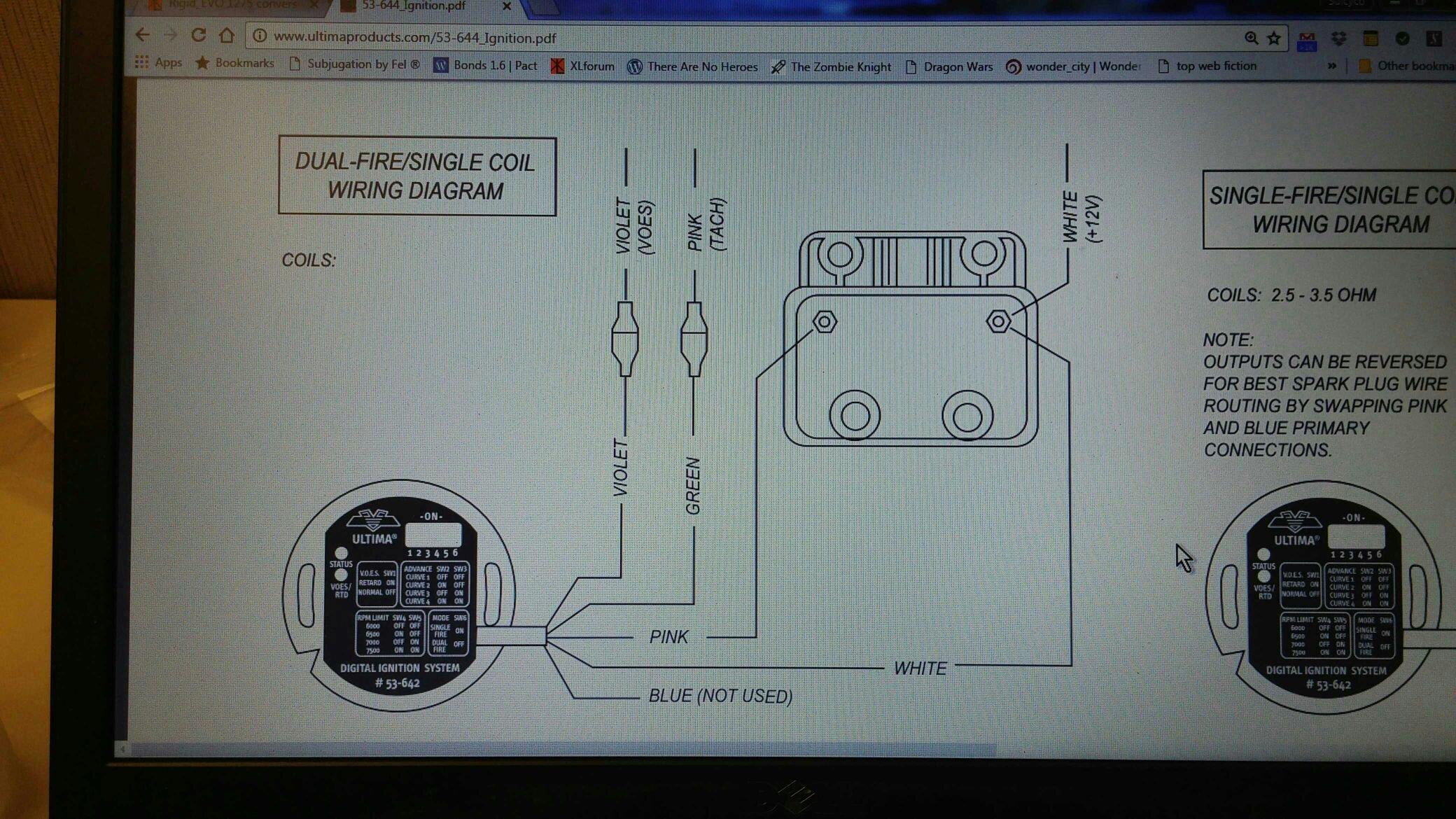 Ultima Digital Ignition System Wiring Diagram