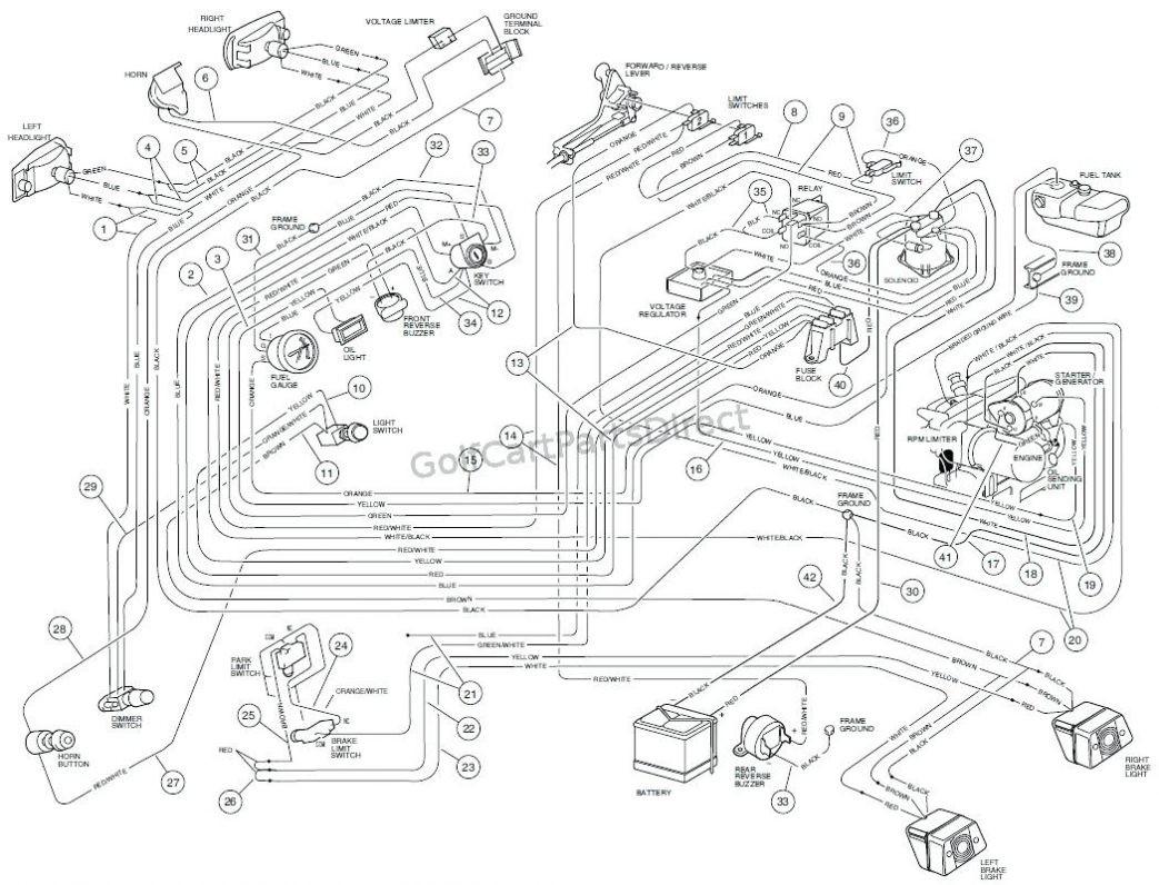 96 Club Car 48v Wiring Diagram