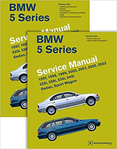 Astounding Bmw 5 Series E39 Service Manual 1997 1998 1999 2000 2001 Wiring Cloud Onicaxeromohammedshrineorg