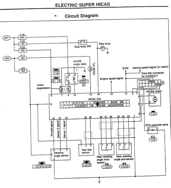 1993 Nissan Skyline Engine Wiring