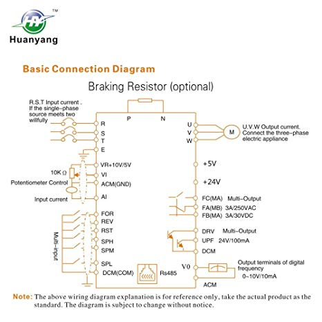 Fw 4452 Huanyang Vfd Control Wiring Diagram Huanyang Get Free Image About Schematic Wiring