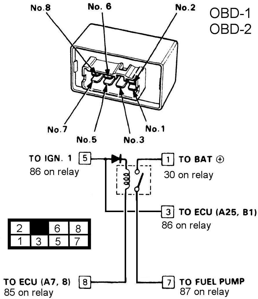 Honda Prelude Fuel Pump Relay Wiring Diagram Wiring Diagram Motor Motor Frankmotors Es