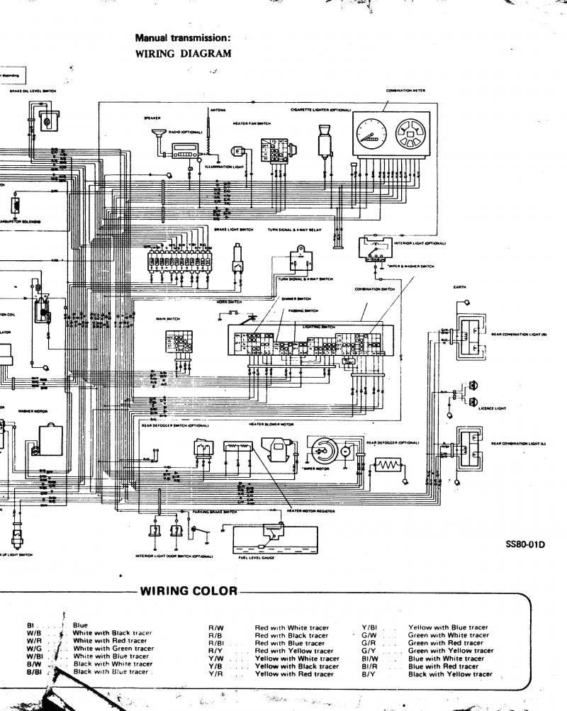 suzuki swift wiring diagram manual