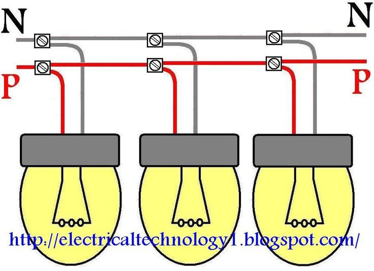 Groovy How To Wire Lights In Parallel Electrical Technology Electrical Wiring Cloud Itislusmarecoveryedborg