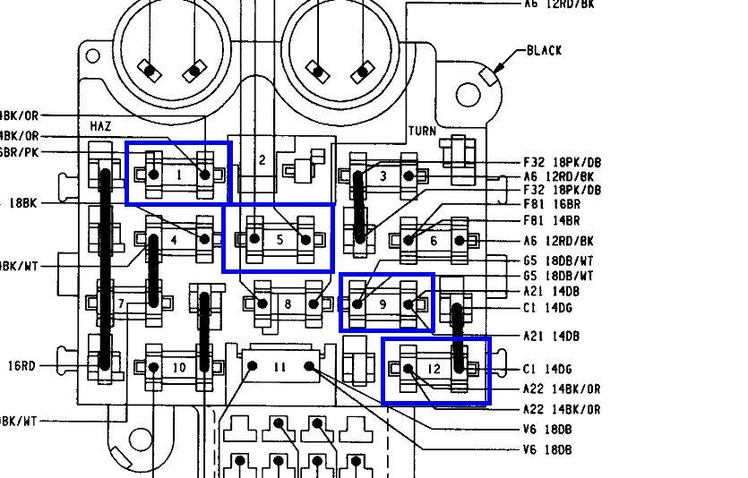 1993 Yj Fuse Box Diagram Wiring Diagram Post