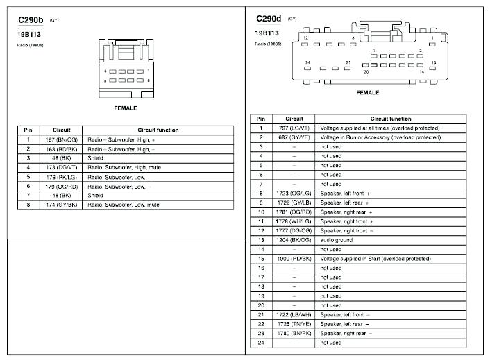 2006 ford five hundred radio wiring - wiring diagram rob-explorer -  rob-explorer.casatecla.it  casatecla.it