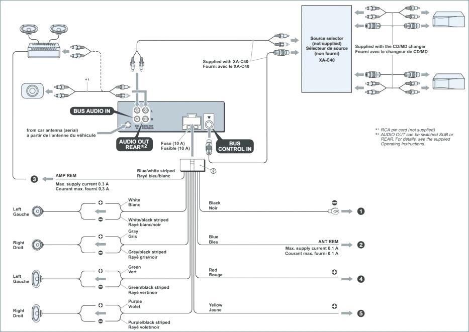 Sony Cdx Gt290 Wiring Diagram