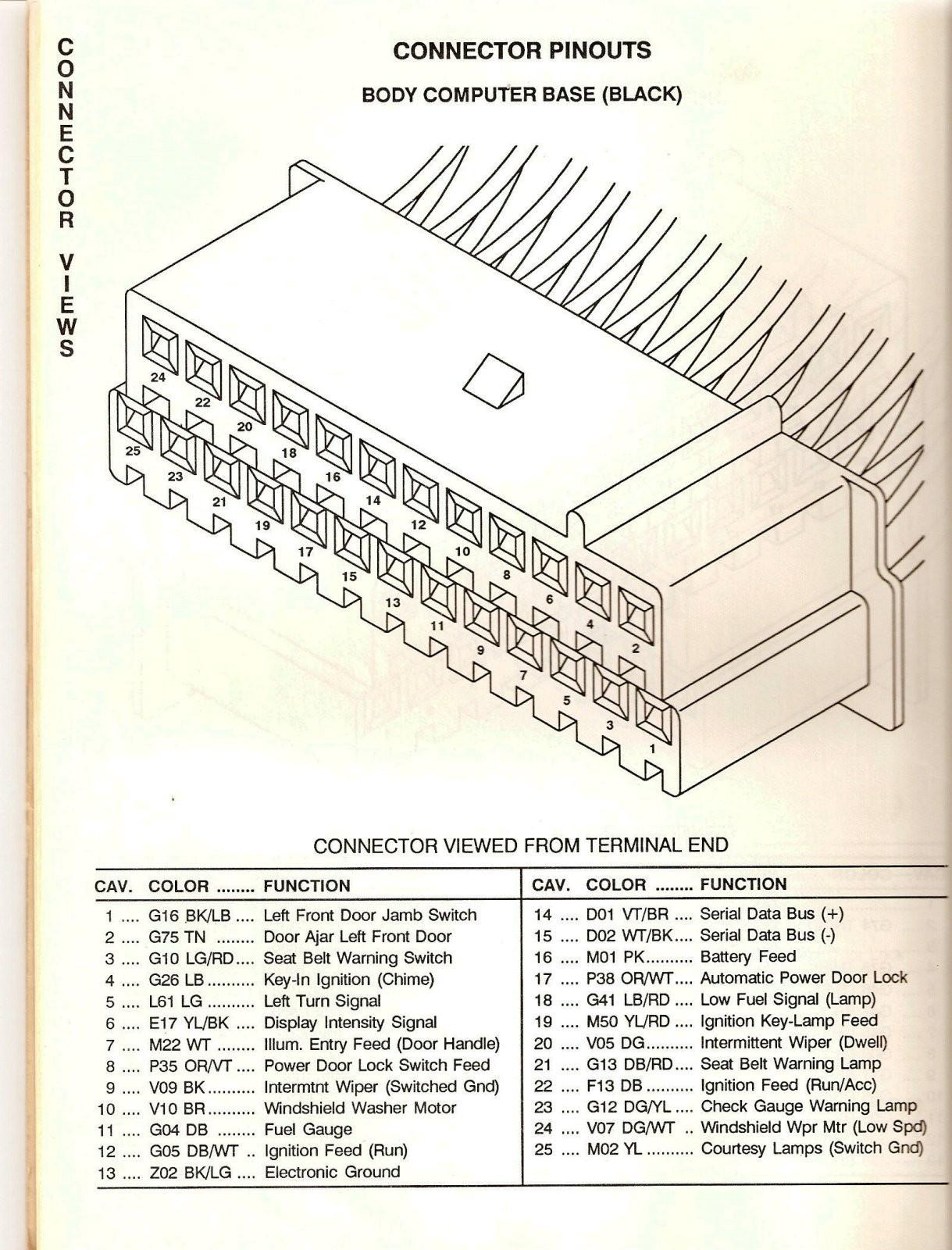 40 Pt Cruiser Radio Wiring Diagram  40 Dodge Stratus Fuse Box ...