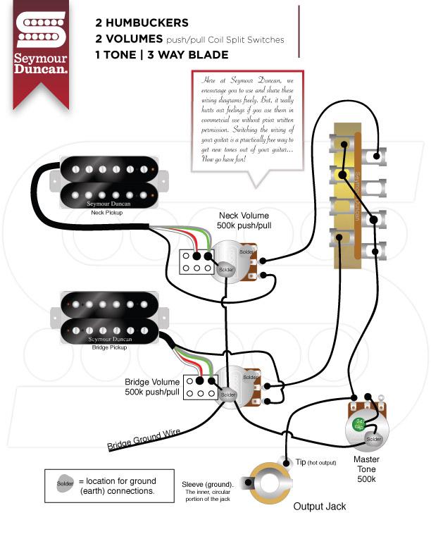Ws 9771 Seymour Duncan Humbucker Wiring Schematics