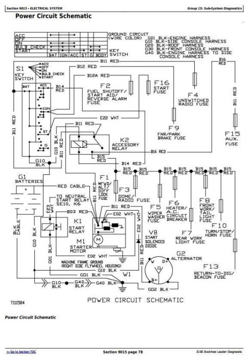 OV_8142] John Deere 310B Wiring Diagrams Schematic Wiring  Brom Bocep Weveq Isra Mopar Gho Eatte Mepta Mohammedshrine Librar Wiring 101