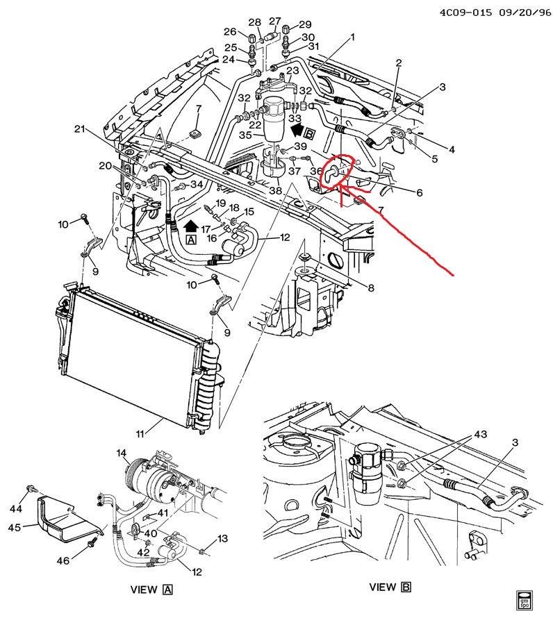 Mv 9549 1996 Buick Lesabre Radiator Hose Diagram Wiring Diagram