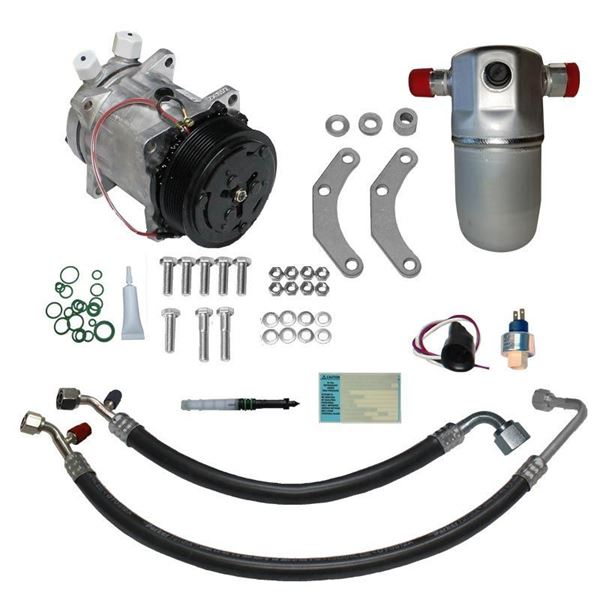 Marvelous 91 93 Chevy Gmc Truck A C Compressor Upgrade Kit V8 Stage 1 Wiring Cloud Mousmenurrecoveryedborg