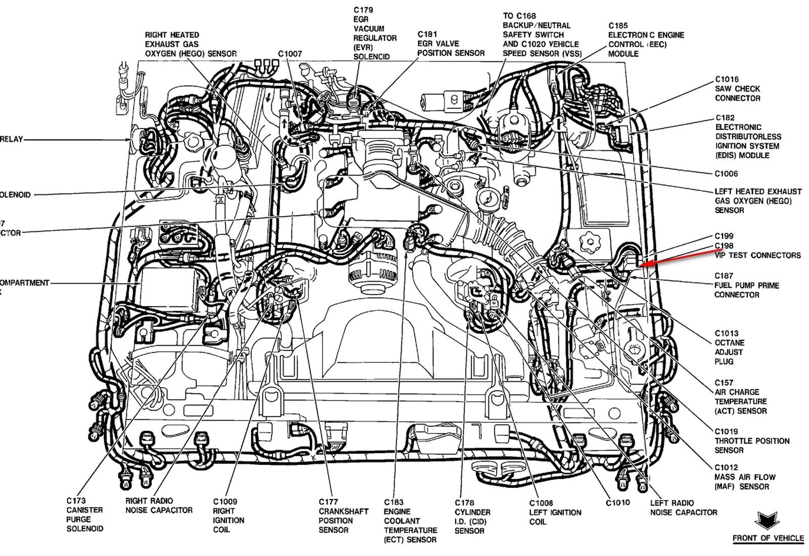 YY_4332] 1998 Mercury Mystique Engine Diagram Free Diagram