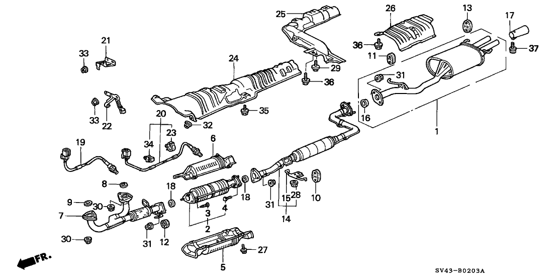 1996 Honda Accord Exhaust System - Latest Cars