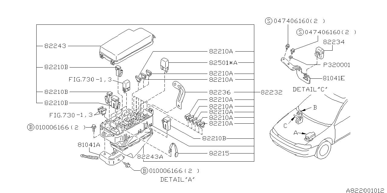 On 0353 1997 Subaru Fuse Box Wiring Diagram