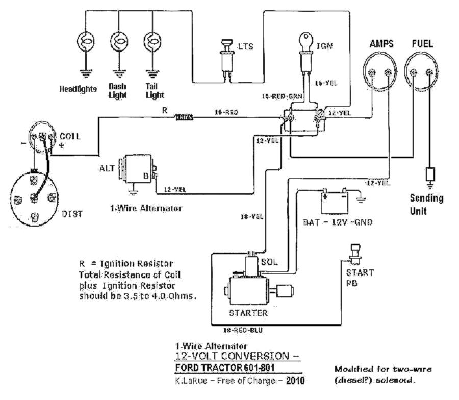 6 Volt To 12 Conversion Wiring Diagram