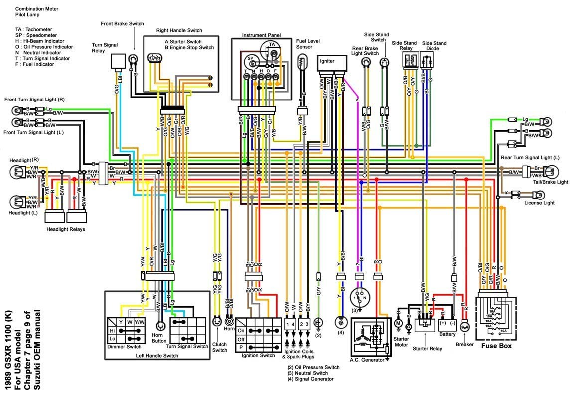 suzuki katana wiring diagram - Wiring Diagram