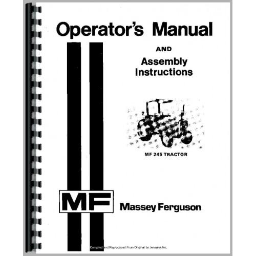 Groovy Mf 240 Owners Manual Wiring Cloud Domeilariaidewilluminateatxorg