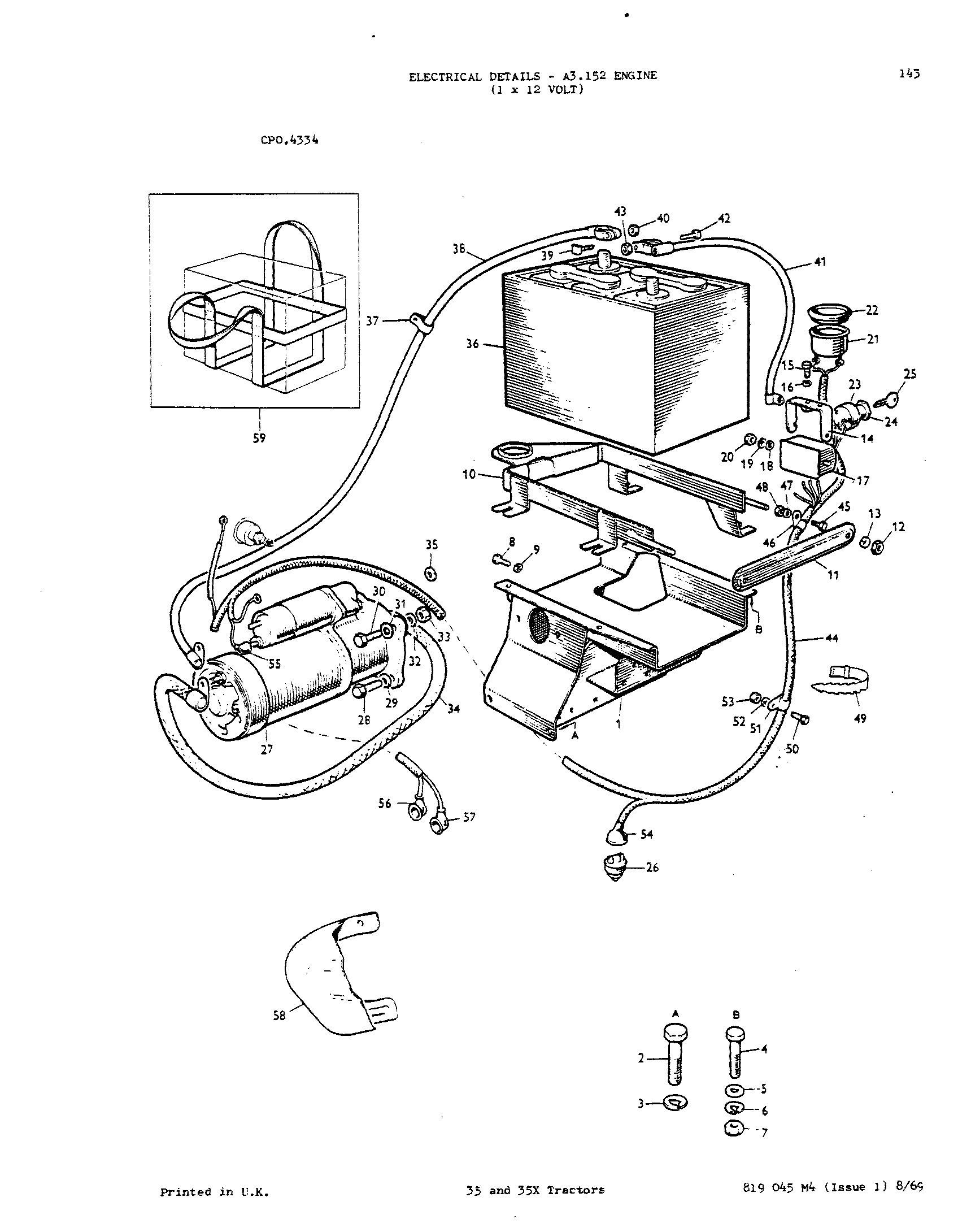 Massey Ferguson 35 Tractor Wiring Diagram