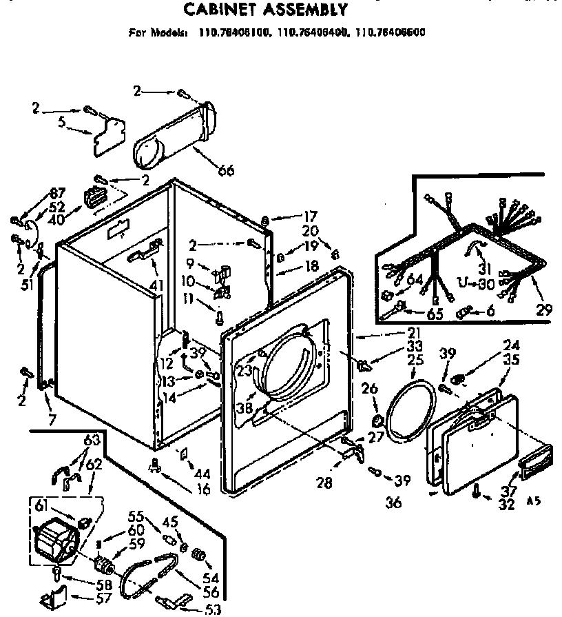 Kenmore Elite Dryer Wiring Diagram