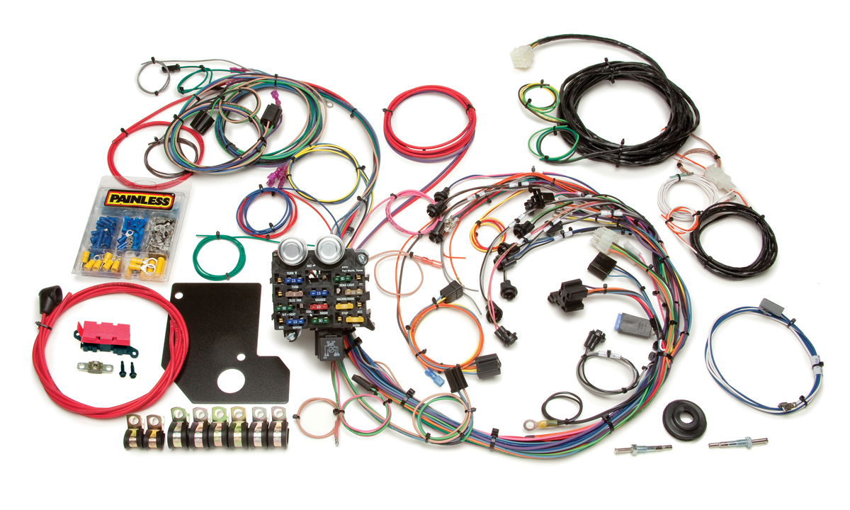 Magnificent 21 Circuit Direct Fit 1966 67 Chevy Ii Nova Chassis Harness Wiring Cloud Icalpermsplehendilmohammedshrineorg