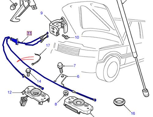 Dz 0615 Land Rover Range Rover Sport 20132016 Lr040267 Sunroof Wiring Wiring Diagram
