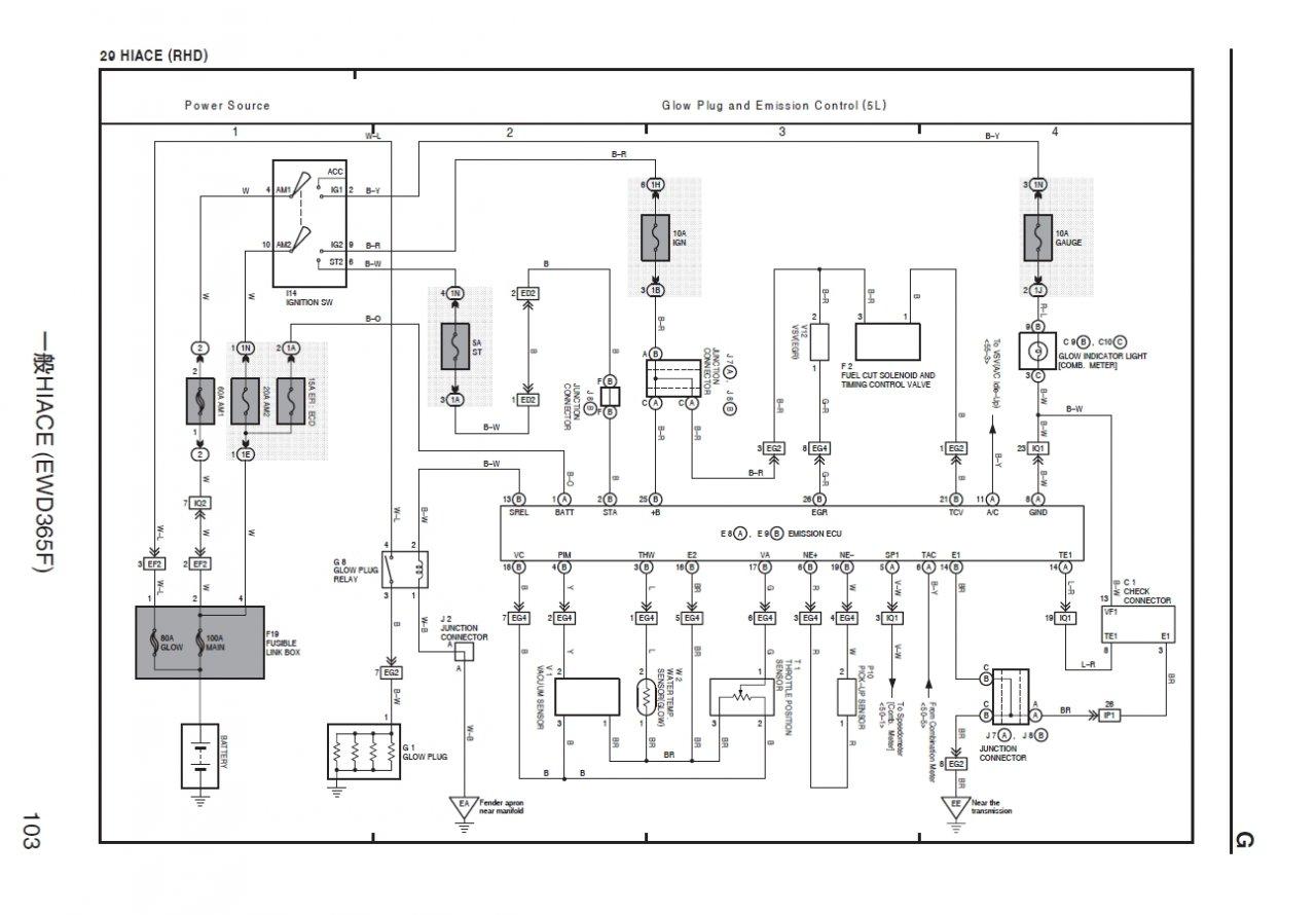 Kx 7830  Toyota Kzte Wiring Diagram Schematic Wiring