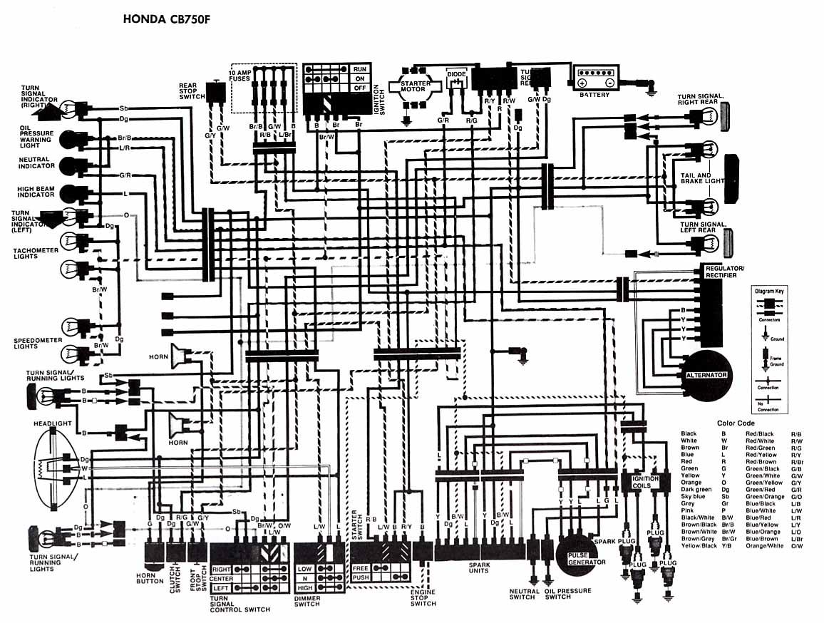 Honda Cb550 Wiring Diagram Honda