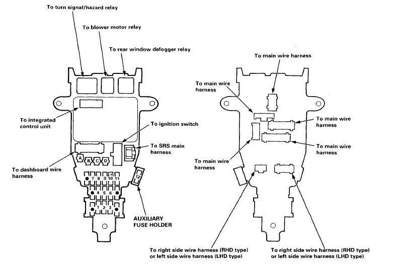 [GJFJ_338]  WV_6341] 1994 Honda Accord Rear Fuse Box Car Wiring Diagram Wiring Diagram | 94 Honda Civic Fuse Diagram Heater |  | Sapre Dupl Adit Trons Mohammedshrine Librar Wiring 101