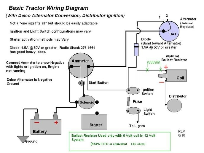 Sk 7794 Conversion Farmall H Wiring Furthermore 6 Volt Positive Ground Wiring Schematic Wiring