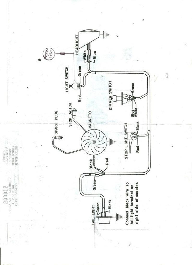 Cm 1917 1954 Allstate Scooter Wiring Diagram Schematic Download Diagram