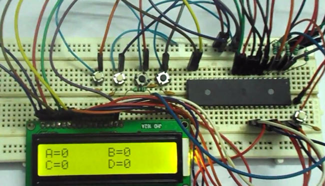 Remarkable Avr Microcontroller Based Electronic Voting Machine Evm Project Wiring Cloud Licukshollocom