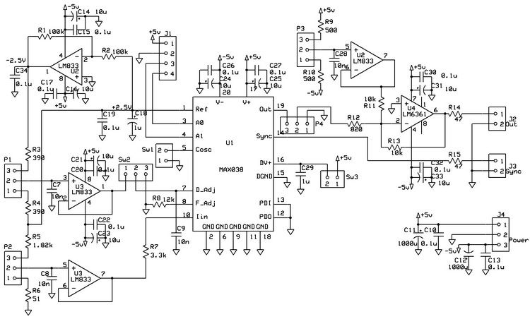Magnificent Xr2206 Function Generator Auto Electrical Wiring Diagram Wiring Cloud Faunaidewilluminateatxorg