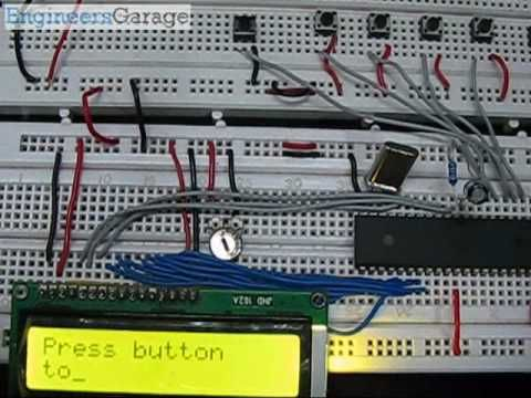 Stupendous Video Lcd Based Voting Machine Using 8051 Microcontroller At89C51 Wiring Cloud Licukshollocom