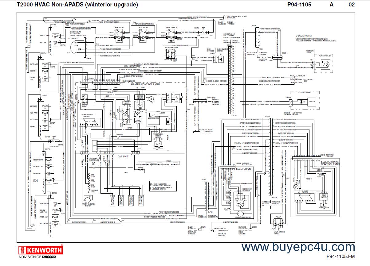 SB_6623] Kenworth Wiring Diagram Kenworth Truck Amp Tractors Manuals PdfAntus Nect Rdona Scoba Mohammedshrine Librar Wiring 101