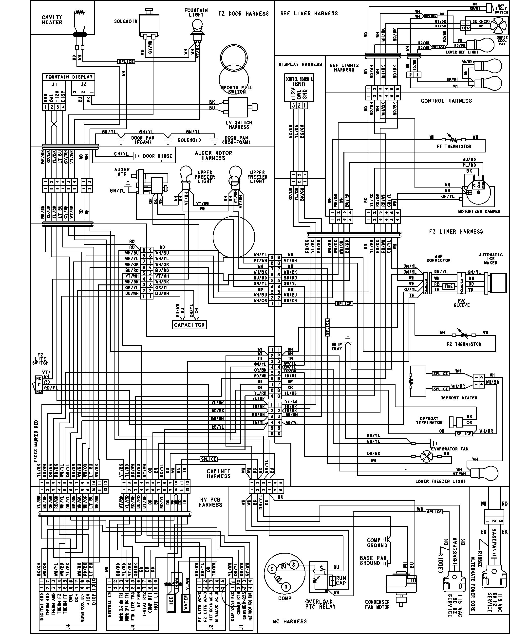 Ge Refrigerator Schematic Electrical - 2000 Mitsubishi Eclipse Wiring  Harness - piooner-radios.wiringdol.jeanjaures37.fr | Ge Refrigerator Schematic Electrical |  | Wiring Diagram Resource