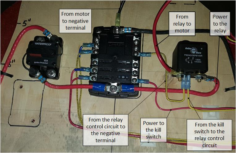 Groovy How To Wire A Kill Switch For A Kayak Trolling Motor Delawareyaker Wiring Cloud Picalendutblikvittorg