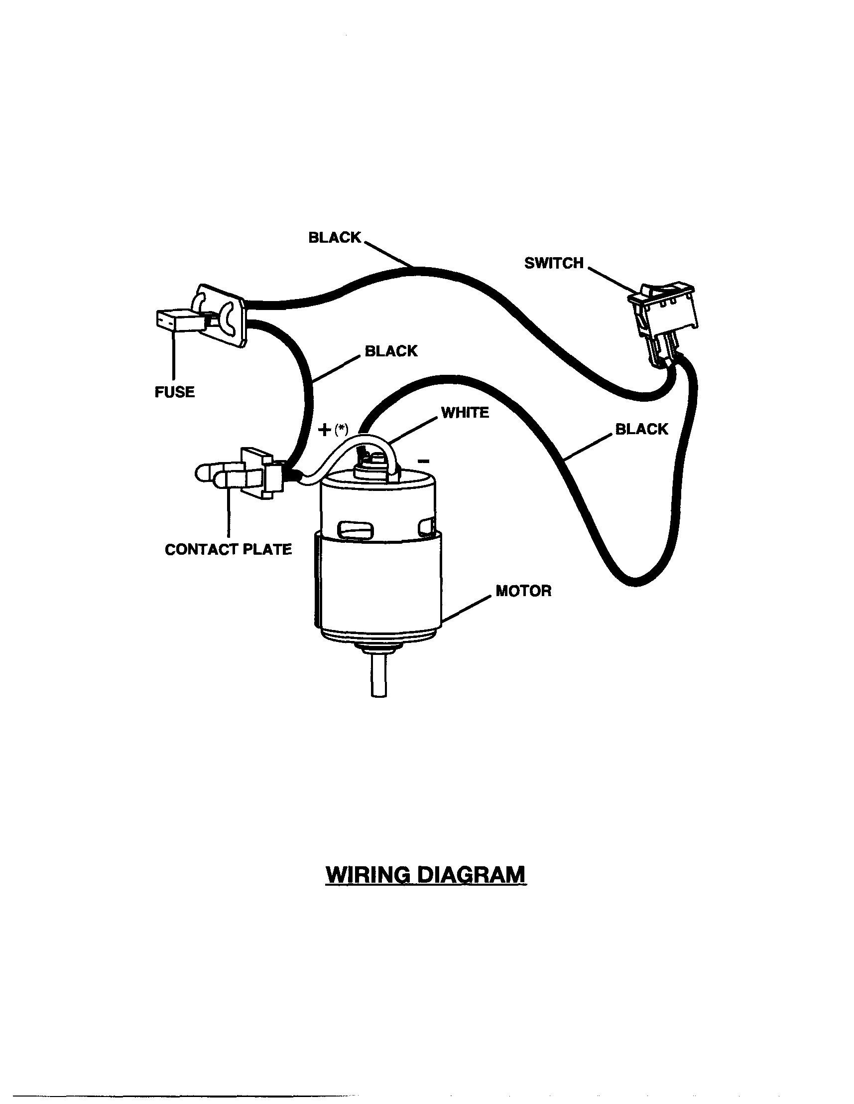 Motor Wiring Diagram For Ridgid