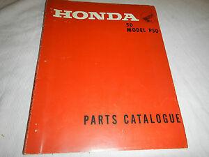 Superb 1967 1968 67 68 Honda P50 P 50 Little Honda Parts Catalog Book Wiring Cloud Histehirlexornumapkesianilluminateatxorg