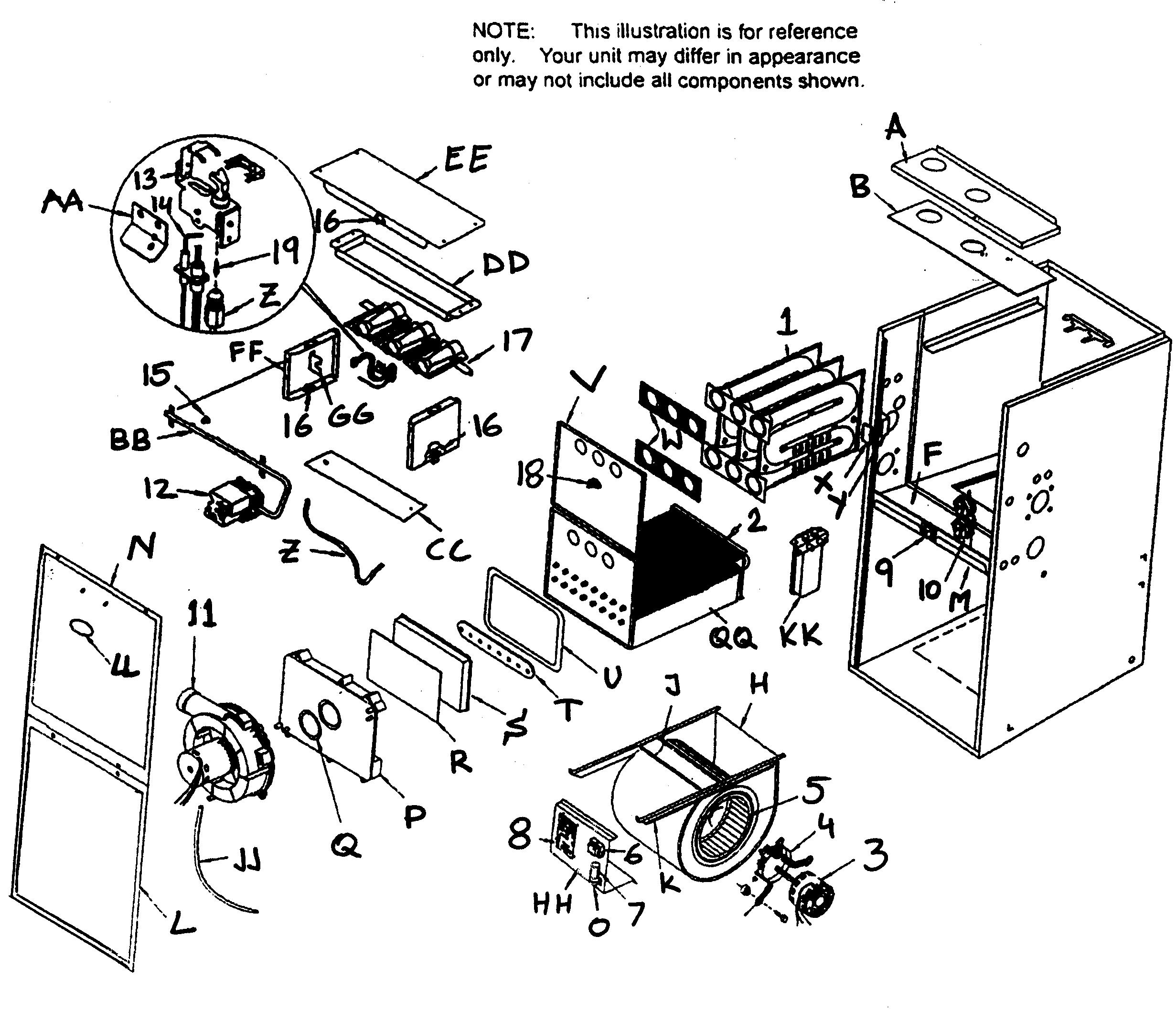 Wiring Model Tempstar Diagram
