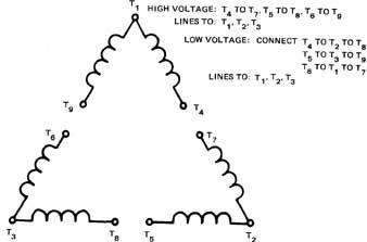 Swell Low Voltage 6 Lead Motor Wiring Diagram Basic Electronics Wiring Wiring Cloud Itislusmarecoveryedborg