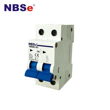Strange Nbse Nbsb1 63 Mcb 6Amp Miniature Circuit Breaker Double Pole Wiring Cloud Dulfrecoveryedborg