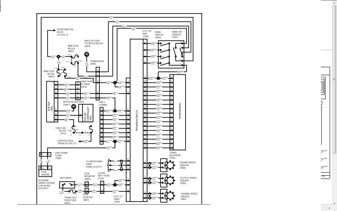 International 4700 Fuse Box Diagram