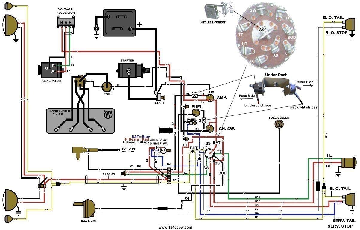 Remarkable Willys Cj3A Wiring Diagram Wiring Diagram A6 Wiring Cloud Waroletkolfr09Org