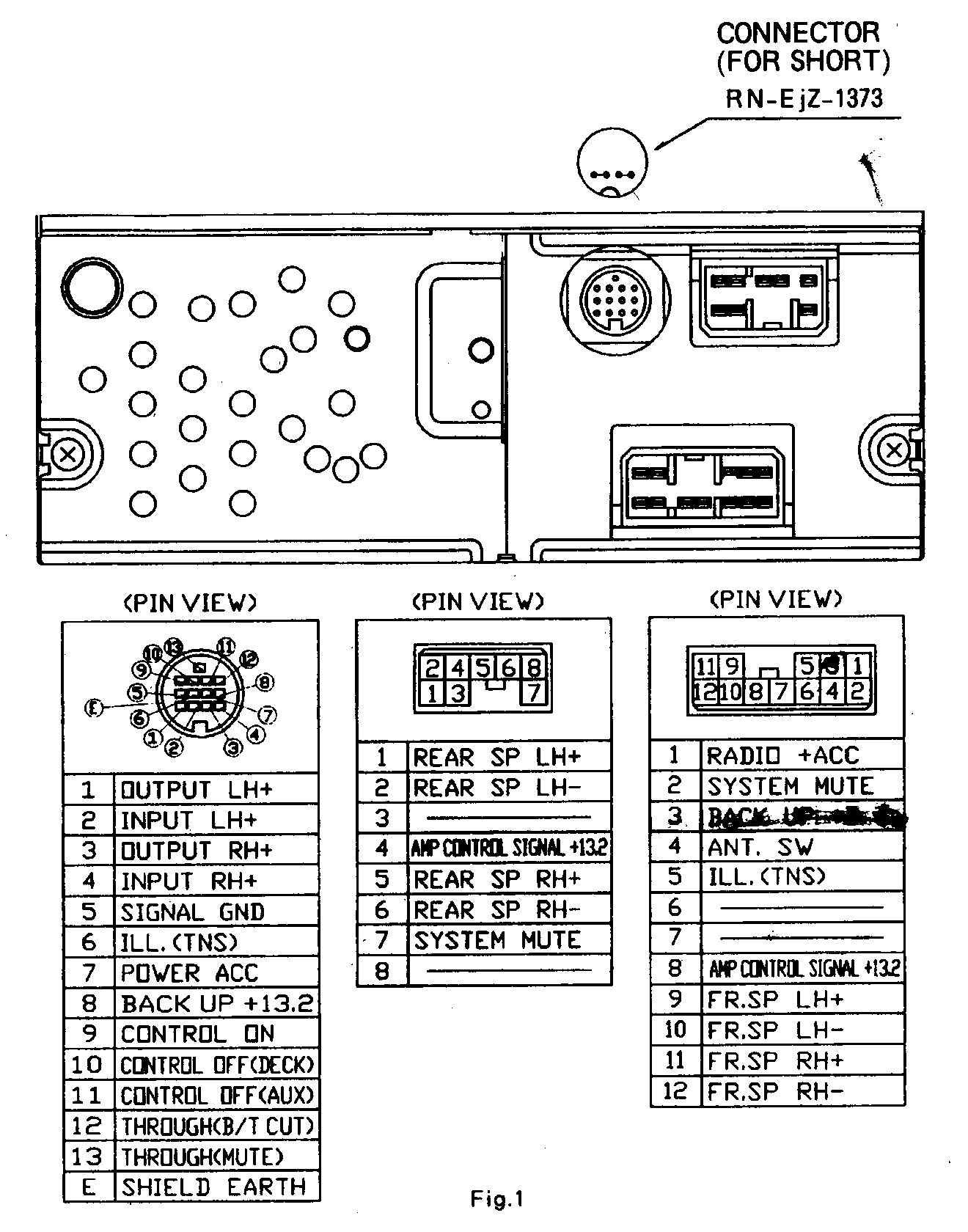 1993 Mazda Mx3 Stereo Wiring Diagram - Wiring Diagram and ...