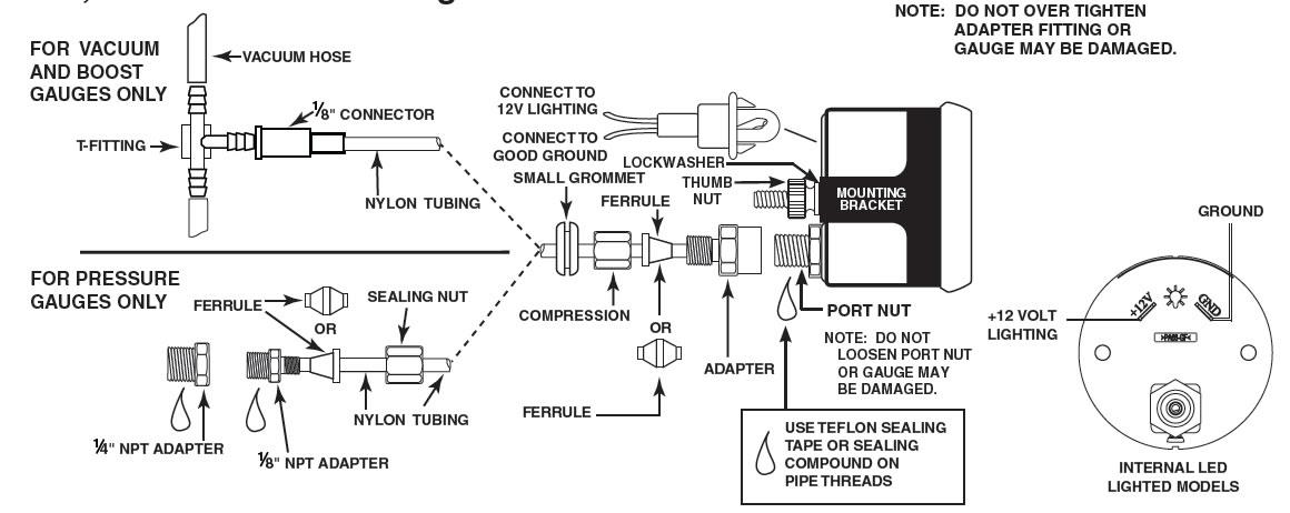 zg8716 autogage memory tach wiring diagram free diagram