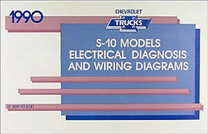 Gz 3905 1988 Chevy S10 Truck Wiring Diagrams Download Diagram