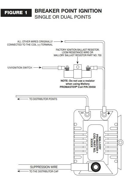 mallory ignition distributor wiring diagram so 0453  mallory coil wiring diagram  so 0453  mallory coil wiring diagram
