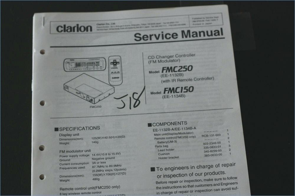 Rs 5830 Clarion Amp Wiring Diagram Free Diagram